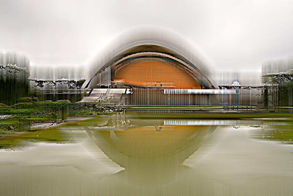 Kongresshalle / Schwangere Auster, © Sabine Wild