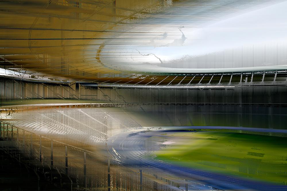 Das Olympiastadion in Berlin - © Sabine Wild